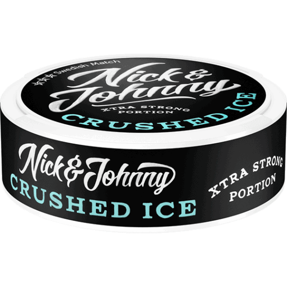 Nick And Johnny Crushed Ice Portionssnus