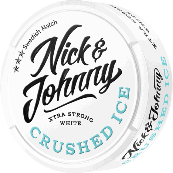 Nick And Johnny Crushed Ice White Portionssnus