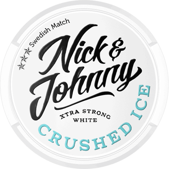 Nick And Johnny Crushed Ice White Portion