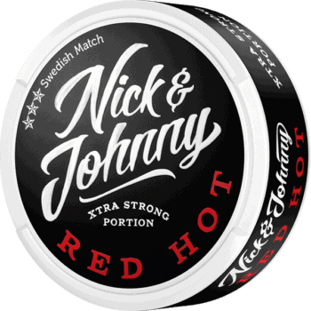 Nick And Johnny Red Hot Portionssnus