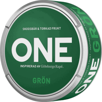 One Grön White Portionssnus