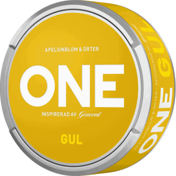 One Gul White Portionssnus