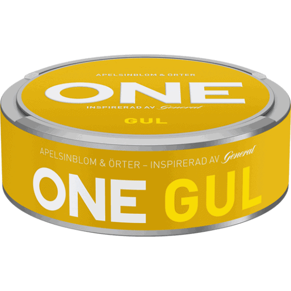 One Gul White Portionssnus