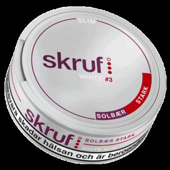 Skruf Solbär Stark White Slim #3