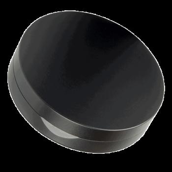 Snusdosa DUS Flat svart aluminium