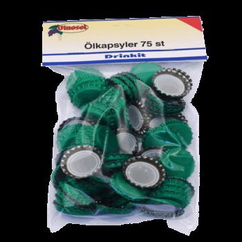 Ölkapsyl Grön 75-pack