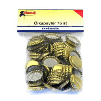 Ölkapsyl Guld 75-pack