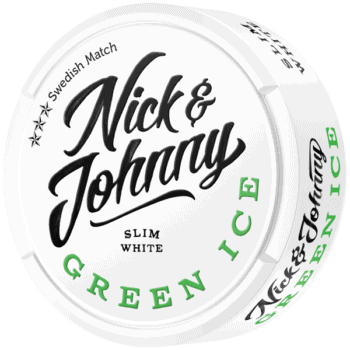 Nick & Johnny Green Ice White