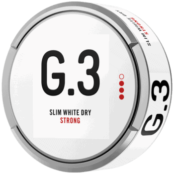 G.3 Slim White Dry Strong Portion