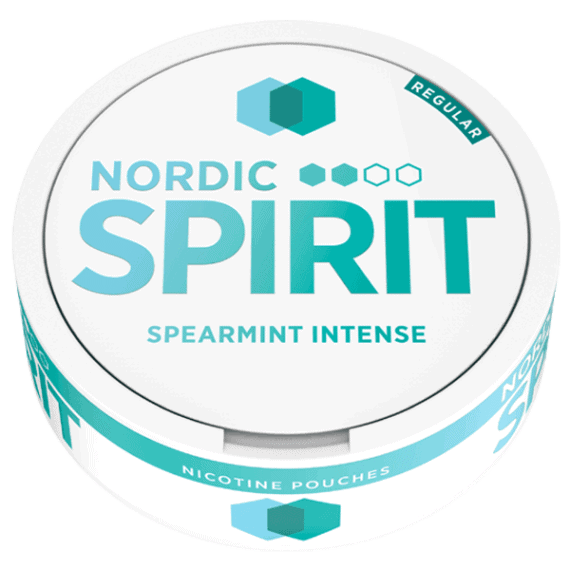 Nordic Spirit Spearmint Intense Regular med normal styrka