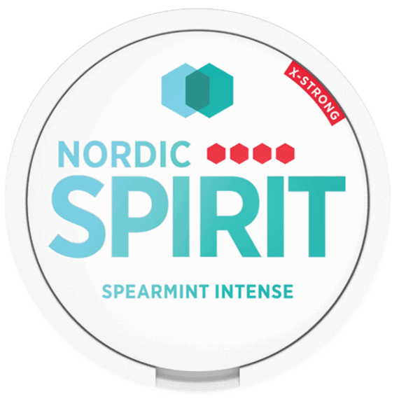 Spearmint Intense vy uppifrån