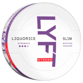 LYFT Liquorice Strong Slim Portion