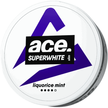 ACE Liquorice Mint Superwhite Slim Portion