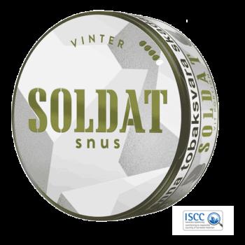 Kurbits Soldat Vinter Portion - Beställ från Snusfabriken.com