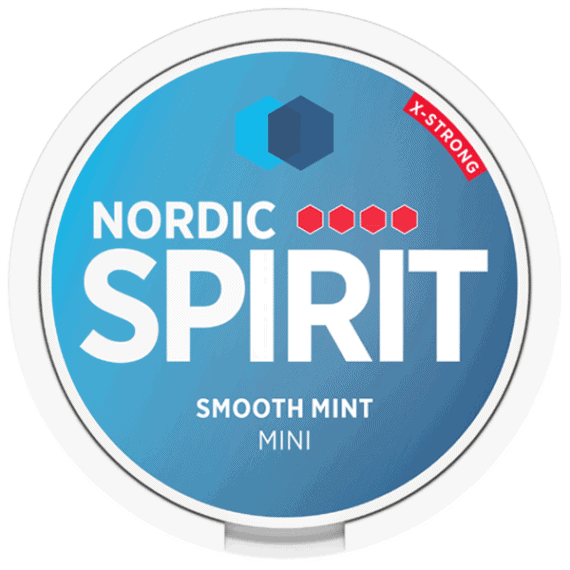 Nordic Spirit Smooth Mint Mini Strong Portion