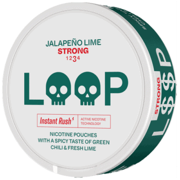 Loop Jalapeno Lime Strong All White Portion