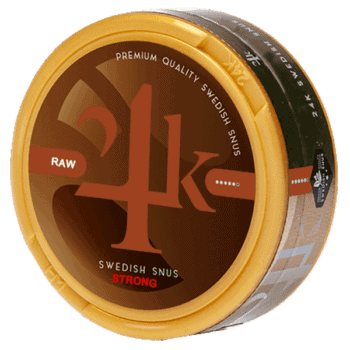 24K RAW Strong Portionssnus