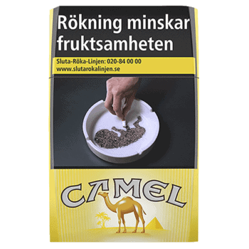 Camel Filters Yellow Cigarett