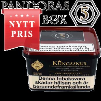 Kungssnus Pandoras Box Batch 005