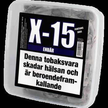 X-15 Enbär Portionssnus