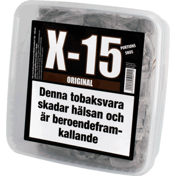 X-15 Original Portionssnus
