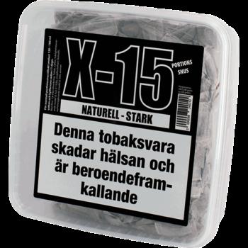 X-15 Naturell Stark Portionssnus