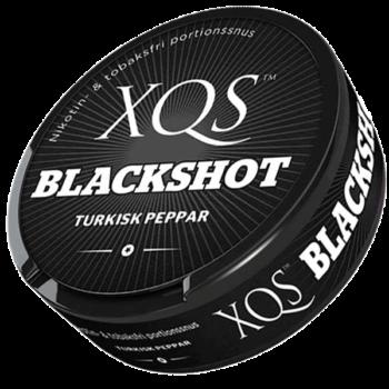 XQS Blackshot Tobak/Nikotinfri Portion