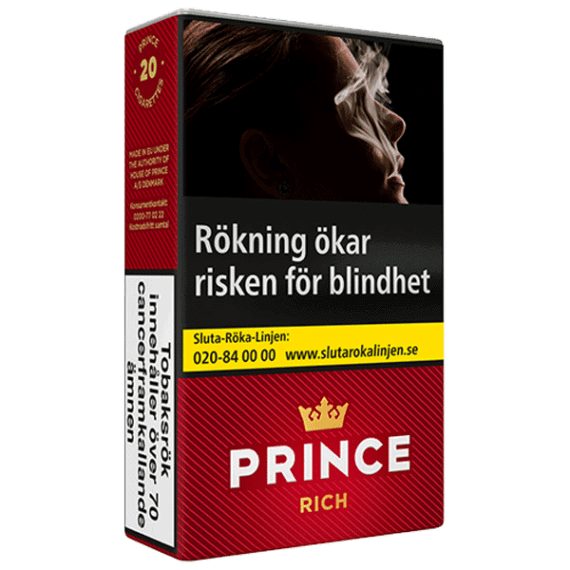 Prince Rich Softpack Cigarett
