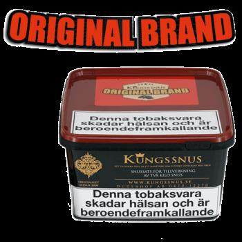 Original Brand från Kungssnus för snustillverkning av eget snus hemma. Enkelt, billigt och bra resultat