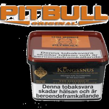 Pitbull Original Extra Grovmald från Kungssnus för snustillverkning av eget snus hemma. Enkelt, billigt och bra resultat
