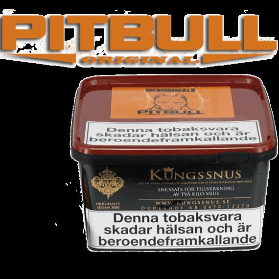 Snussats Pitbull Original Mediummald från Kungssnus för snustillverkning av eget snus hemma. Enkelt, billigt och bra resultat. - Beställ från Snusfabriken.com