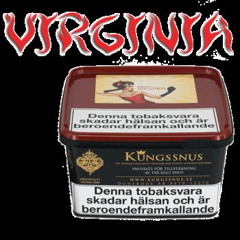 Snussatsen Virginia från Kungssnus för snustillverkning av eget snus hemma. Enkelt, billigt och bra resultat.