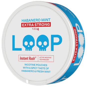 Loop Habanero Mint Extra Strong All White Portionssnus