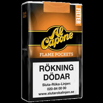 Al Capone Pockets Filter Flame - 10 Cigarett