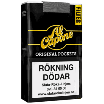 Al Capone Pockets Filter Original Cigarett