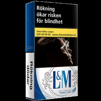 L&M Blue Label 100's Cigarett