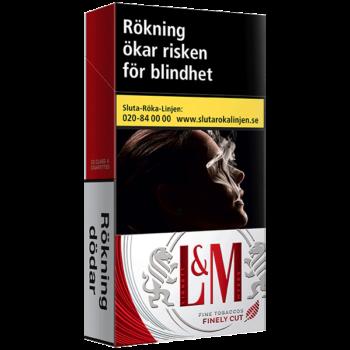 L&M Red Label 100's Cigarett