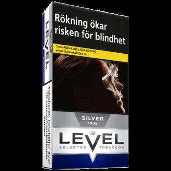 Level Silver 100's Cigarett