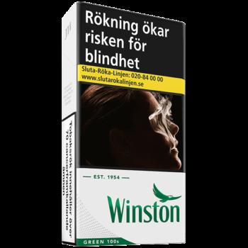Winston Green 100's Cigarett