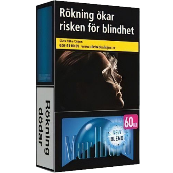 Marlboro Dark Blue Hardpack cigarett