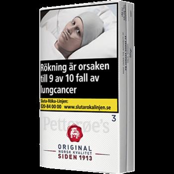 Petteröes Orginal Vit 3 Rulltobak - Köp fraktfritt från Snusfabriken.com