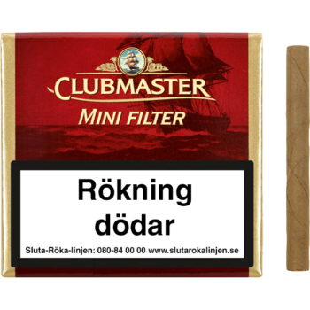 Clubmaster Mini Red Filter cigariller