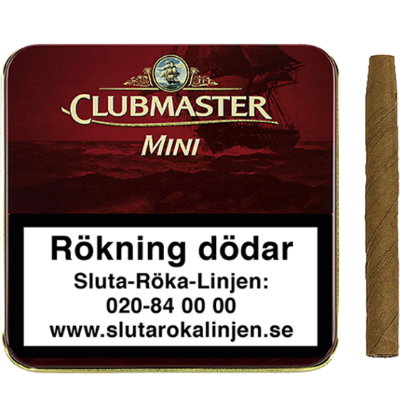Clubmaster Mini Red cigariller