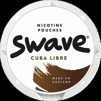 Swave Cuba Libre All White Slim Portion- Beställ snuset fraktfritt från Snusfabriken.com