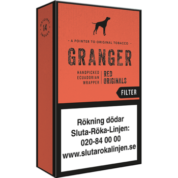 Granger Original Red Filter cigariller