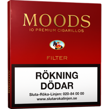 Ritmeester Moods Filter 10-pack cigariller