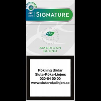 Signature Green cigariller