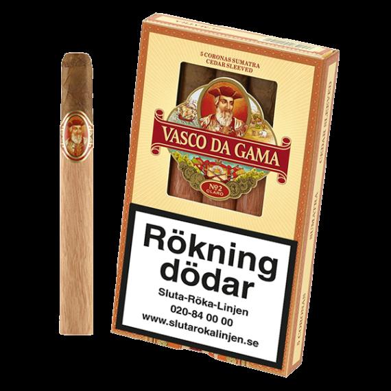 Vasco Da Gama No. 2 Claro cigarrer